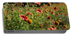 Firewheel Wildflower Portable Battery Charger
