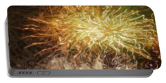 Portable Battery Charger featuring the photograph Fireworks 10 by Joan Reese