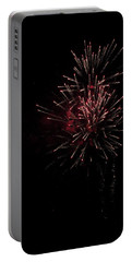 Fireworks 2016 I Portable Battery Charger by Suzanne Gaff