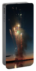 Fireworks After Sunset Portable Battery Charger