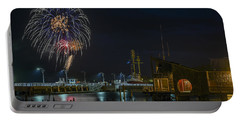 Fireworks And 17th Street Docks Portable Battery Charger