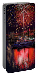 Fireworks At The Docks Portable Battery Charger