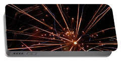 Portable Battery Charger featuring the photograph Fireworks Blast #0703 by Barbara Tristan