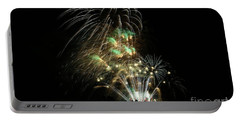 Portable Battery Charger featuring the photograph Fireworks by Craig Wood