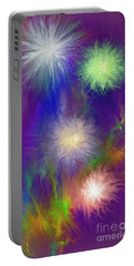 Fireworks Portable Battery Charger by Greg Moores