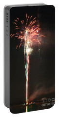 Fireworks On The Lake Portable Battery Charger