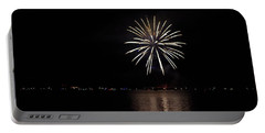 Fireworks Over Shaver Lake Portable Battery Charger