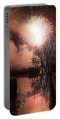 Fireworks Rain Down On Salems Friendship Portable Battery Charger