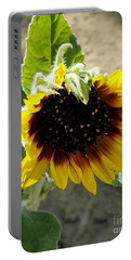 First Bloom Maturing  Portable Battery Charger by Angela J Wright
