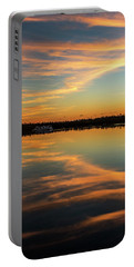 Portable Battery Charger featuring the photograph First Key West Sunrise 2018 A  by Bob Slitzan