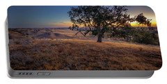 Portable Battery Charger featuring the photograph First Light On The  Canyon Ranch by Tim Bryan