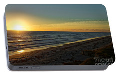 Portable Battery Charger featuring the photograph First Light by Paul Mashburn