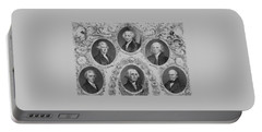 First Six U.s. Presidents Portable Battery Charger