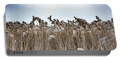 First Snow On Roman Reed Portable Battery Charger