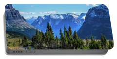 Portable Battery Charger featuring the photograph First Winter Snow In Glacier by Yeates Photography