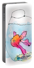 Fish Portable Battery Charger