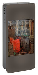 Portable Battery Charger featuring the photograph Fish Barrels by Thom Zehrfeld