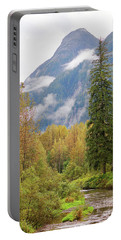 Portable Battery Charger featuring the photograph Fish Creek Autumn by Stanza Widen