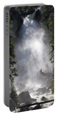 Fish Creek Falls Portable Battery Charger by Don Schwartz