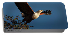 Fish Eagle Taking Flight Portable Battery Charger