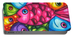 Fish Friends Portable Battery Charger