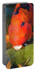 Portable Battery Charger featuring the photograph Fish Surprise by Raphael Lopez