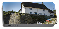 Portable Battery Charger featuring the photograph Fishermans Cottage by Brian Roscorla