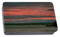 Portable Battery Charger featuring the photograph Fishermans Wharf Sunrise by Randy Hall