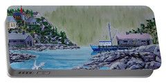 Fisher's Cove Portable Battery Charger by Mike Caitham
