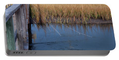 Fishin' Lines Portable Battery Charger by Kay Lovingood