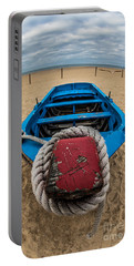 Little Blue Fishing Boat Portable Battery Charger