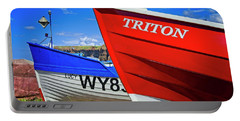 Fishing Boats Saltburn-by-the-sea Portable Battery Charger