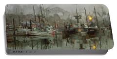 Fishing Fleet Dock Five Portable Battery Charger