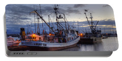 Fishing Fleet Portable Battery Charger by Randy Hall