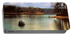 Portable Battery Charger featuring the photograph Fishing Hot Springs Ar by Diana Mary Sharpton