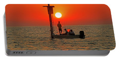 Fishing In Lacombe Louisiana Portable Battery Charger by Luana K Perez