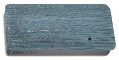 Fishing In The Ocean Off Palos Verdes Portable Battery Charger