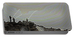 Fishing In The Twilight Zone Portable Battery Charger