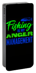 Fishing Is My Anger Management 2 2 Portable Battery Charger