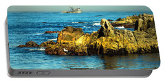 Fishing Monterey Bay Ca Portable Battery Charger
