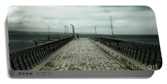 Portable Battery Charger featuring the photograph Fishing Pier by Perry Webster