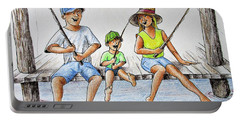 Fishing Tale Portable Battery Charger