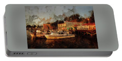 Portable Battery Charger featuring the photograph Fishing Trips Daily by Thom Zehrfeld