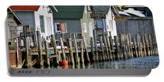 Fishtown In Leland Portable Battery Charger