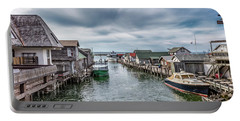 Fishtown Michigan In Leland Portable Battery Charger