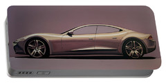 Fisker Karma 2012 Painting Portable Battery Charger