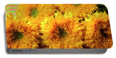 Five Exotic Sunflowers Portable Battery Charger
