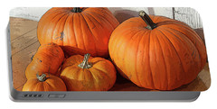 Five Pumpkins Portable Battery Charger