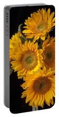 Five Sunflowers Portable Battery Charger
