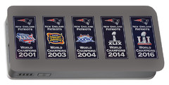 Five Time Champions Portable Battery Charger